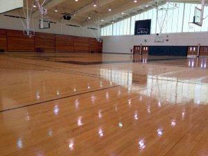Gym Floor & Bleachers
