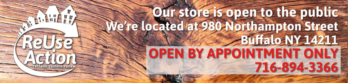 ReUse Action – reclaim. restore. renew. – Western New York's Largest Supplier of Reclaimed & Surplus Building Material