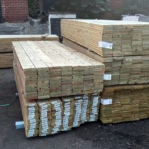 Pressure-Treated Decking